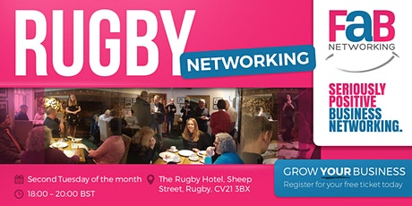 Networking with FindaBiz Rugby tickets