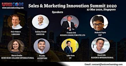 Sales & Marketing Innovation Summit 2020 - Singapore tickets