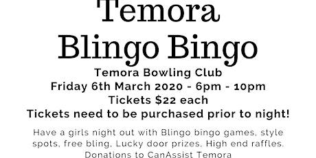 Temora's Blingo Bingo tickets