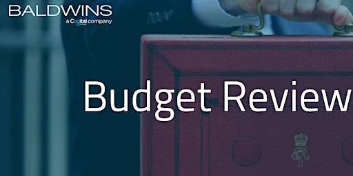 Budget Review Seminar