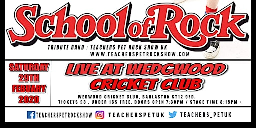 Teachers Pet Rock Show,Live at Wedgwood Cricket Club.