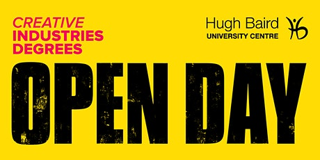 Creative Industries Degrees Open Day tickets