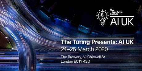 The Turing presents: AI UK tickets