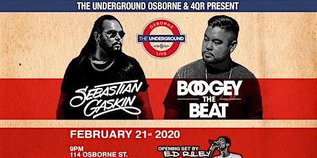 Sebastian Gaskin & Boogey The Beat w/ Ed Riley Live @ Osborne Underground Live 18+ tickets