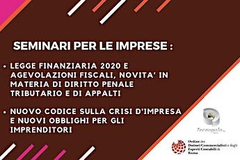 LEGGE BILANCIO 2020: MISURE FISCALI E NOVITA' SU PENALE TRIBUTARIO E APPALTI biglietti