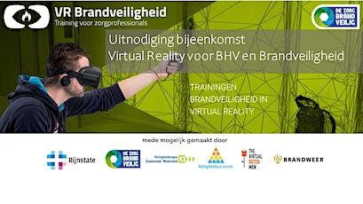 Virtual Reality voor BHV en Brandveiligheid tickets