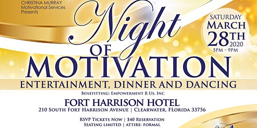 "Christina Murray's Second Annual ""A Night of Motivation"""
