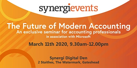 Synergi: The future of modern Business Accounting tickets