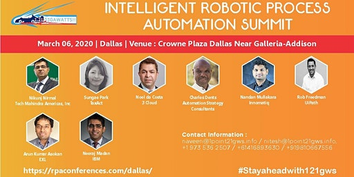 Intelligent Robotic Process Automation|Dallas|06 March 2020