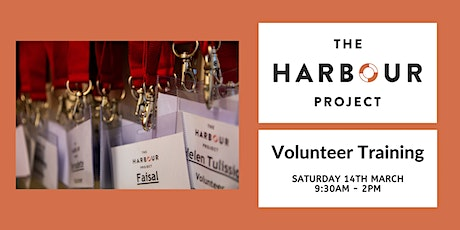 Harbour Project Volunteer Training - March 2020 tickets