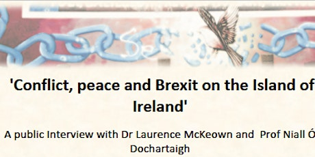 Conflict, peace and Brexit on the Island of Ireland tickets