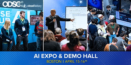 AI Expo Hall & Networking @ ODSC East 2020 (April 15 - 16 only) tickets
