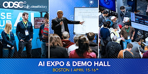 AI Expo Hall & Networking @ ODSC East 2020 (April 15 - 16 only)
