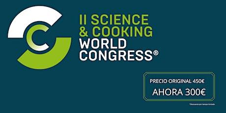 Science & Cooking World Congress Barcelona 2020 entradas