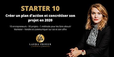 Starter 10:  Créer un plan d'action et lancer son entreprise en 2020 billets
