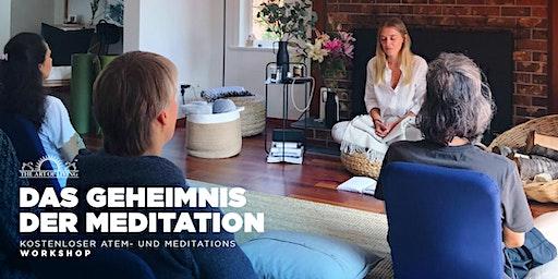 Entdecke das Geheimnis der Meditation - Kostenloser Einführungsworkshop in Tubingen
