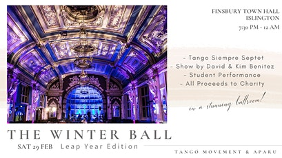 Tango Movement 10th Winter Ball  (In support of charities in Argentina) tickets