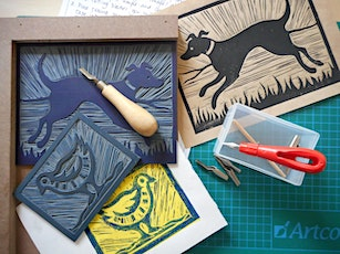 Linocut workshop with artist Liz Wellby tickets
