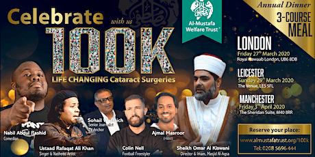 Celebrating 100K Cataract surgeries LONDON tickets