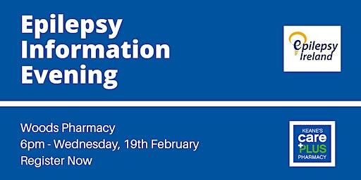 FREE Epilepsy Information Evening in Woods Pharmacy with Epilepsy Ireland