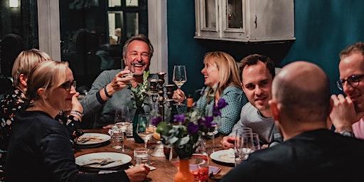 Kreatives Nachhaltiges 5 Gang Dinner