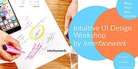 Intuitive UI Design Workshop Tickets