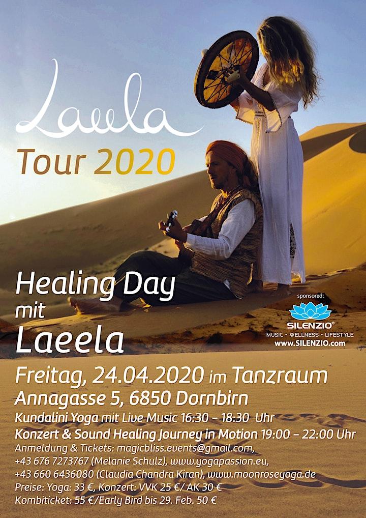 Verschoben! Healing Day mit Laeela in Dornbirn: Bild