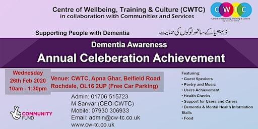 Dementia Awareness Annual Celebration Achievement