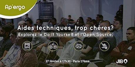 Ap'Ergo | Aides techniques, trop chères? Explorez le DIY et l'Open Source tickets
