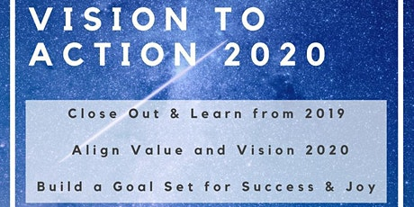 'Vision to Action'  Workshop - EARLY BIRD tickets