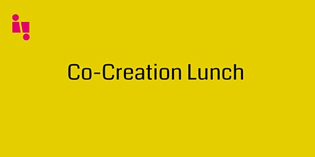 Co-Creation Lunch tickets
