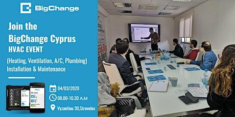 BigChange Cyprus Event - HVAC Industry tickets