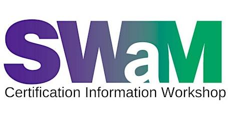 SWaM Certification Information Workshop (April 2020) tickets