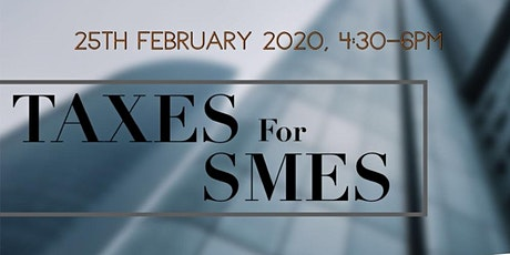 TAXES FOR SMES tickets