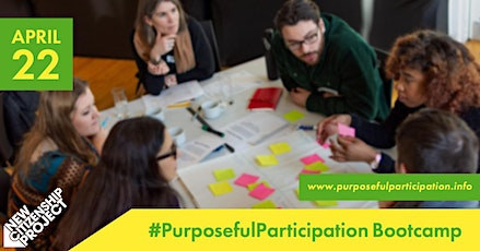 Purposeful Participation Bootcamp tickets