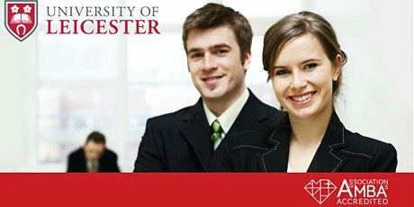 University of Leicester MBA Webinar Oman - Meet University Professor tickets