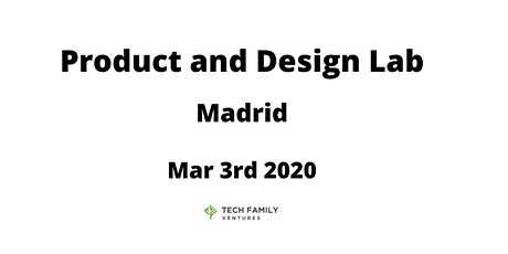 Product and Design Lab Madrid 2020 entradas