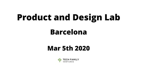 Product and Design Lab Barcelona 2020 entradas