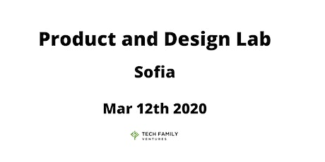 Product and Design Lab Sofia 2020 tickets