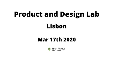 Product and Design Lab Lisbon 2020 tickets