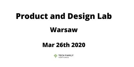 Product and Design Lab Warsaw 2020 tickets