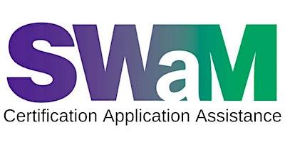 SWaM Certification Application Assistance (April 2020)
