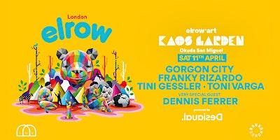elrow London - elrow'art Kaos Garden