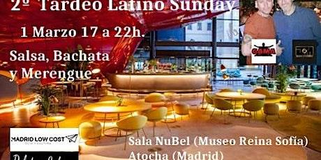 Tardeo Latino Sunday en NuBel del Museo Reina Sofia entradas