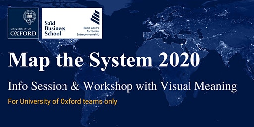 Map the System 2020: Information Session & Workshop with Visual Meaning