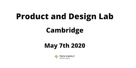 Product and Design Lab Cambridge 2020 tickets