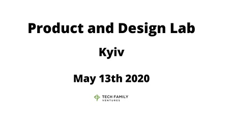 Product and Design Lab Kyiv 2020 tickets