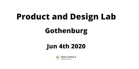 Product and Design Lab Gothenburg 2020 tickets