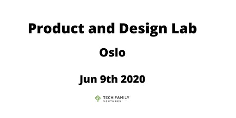 Product and Design Lab Oslo 2020 tickets