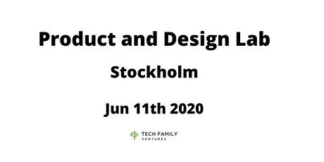 Product and Design Lab Stockholm 2020 tickets